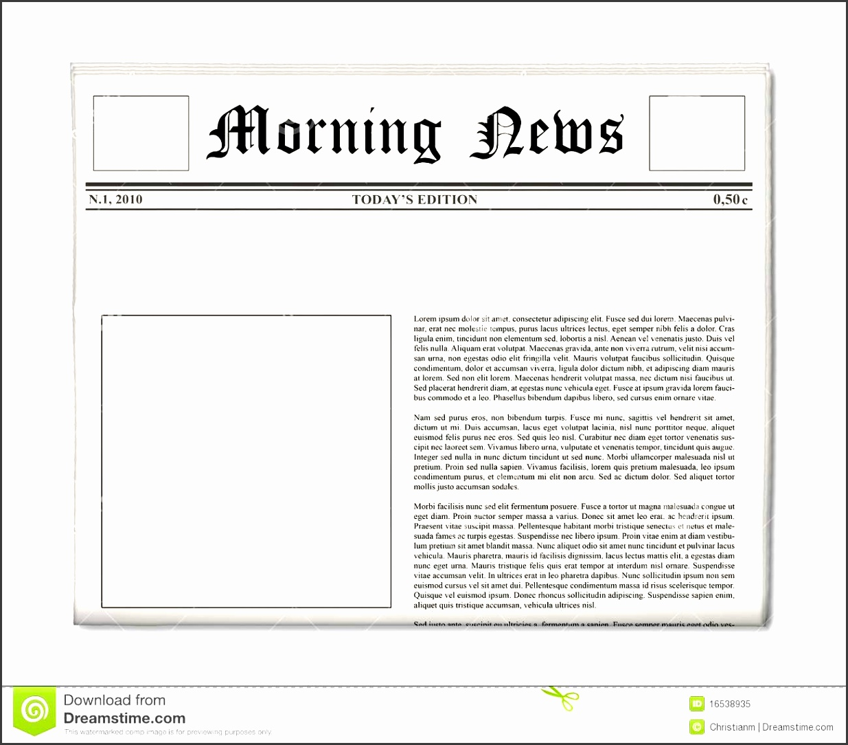 newspaper cake template newspaper front page template free