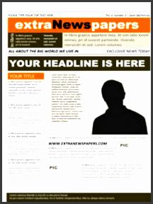 4 microsoft word newspaper template it here