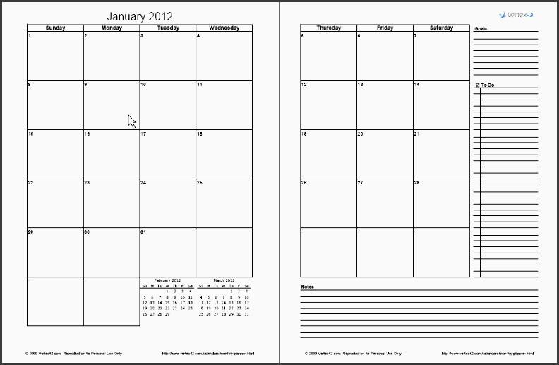 9 one week planner template in excel sampletemplatess for One week calendar template excel