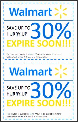 walmart discount coupon template