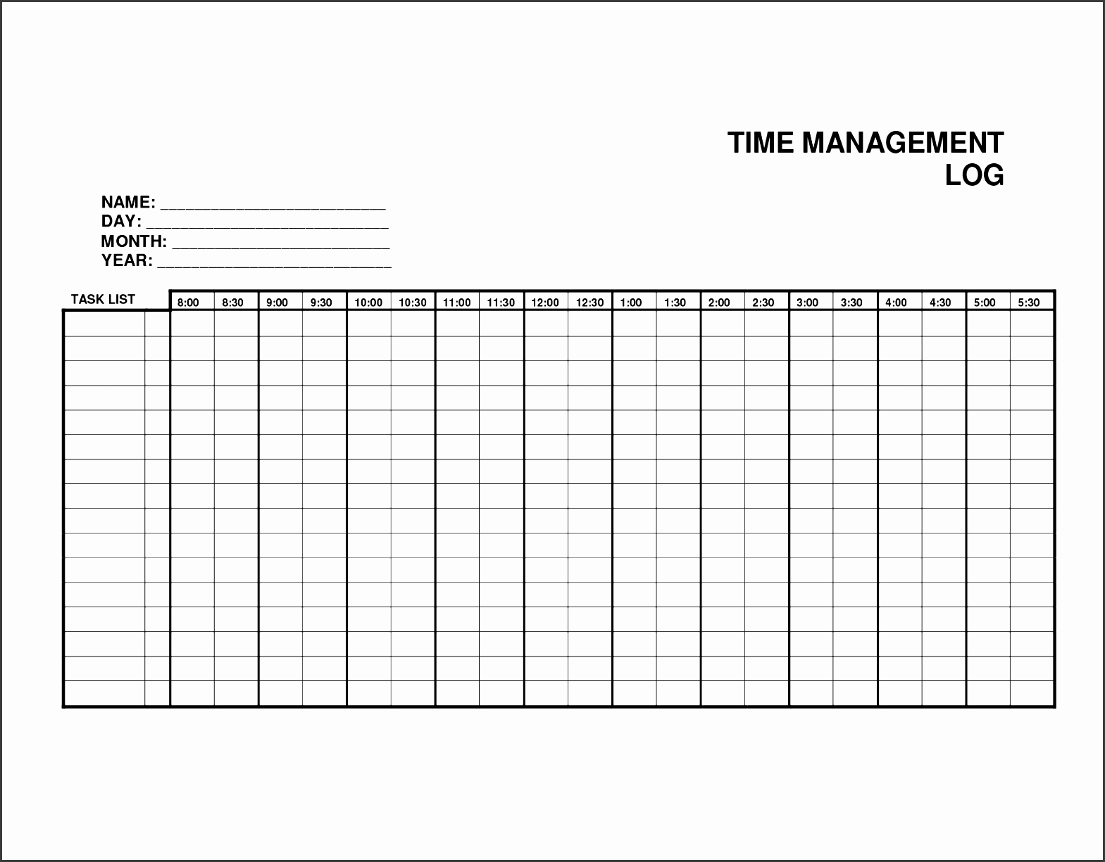 you will find this daily work log template really handful to keep basically daily work log is a time try to use our log sheet templates and you will