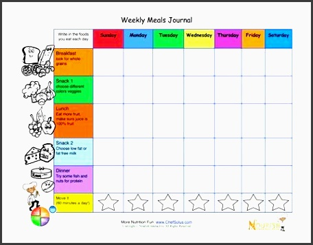 9 Online Monthly Meal Planner for Free - SampleTemplatess ...