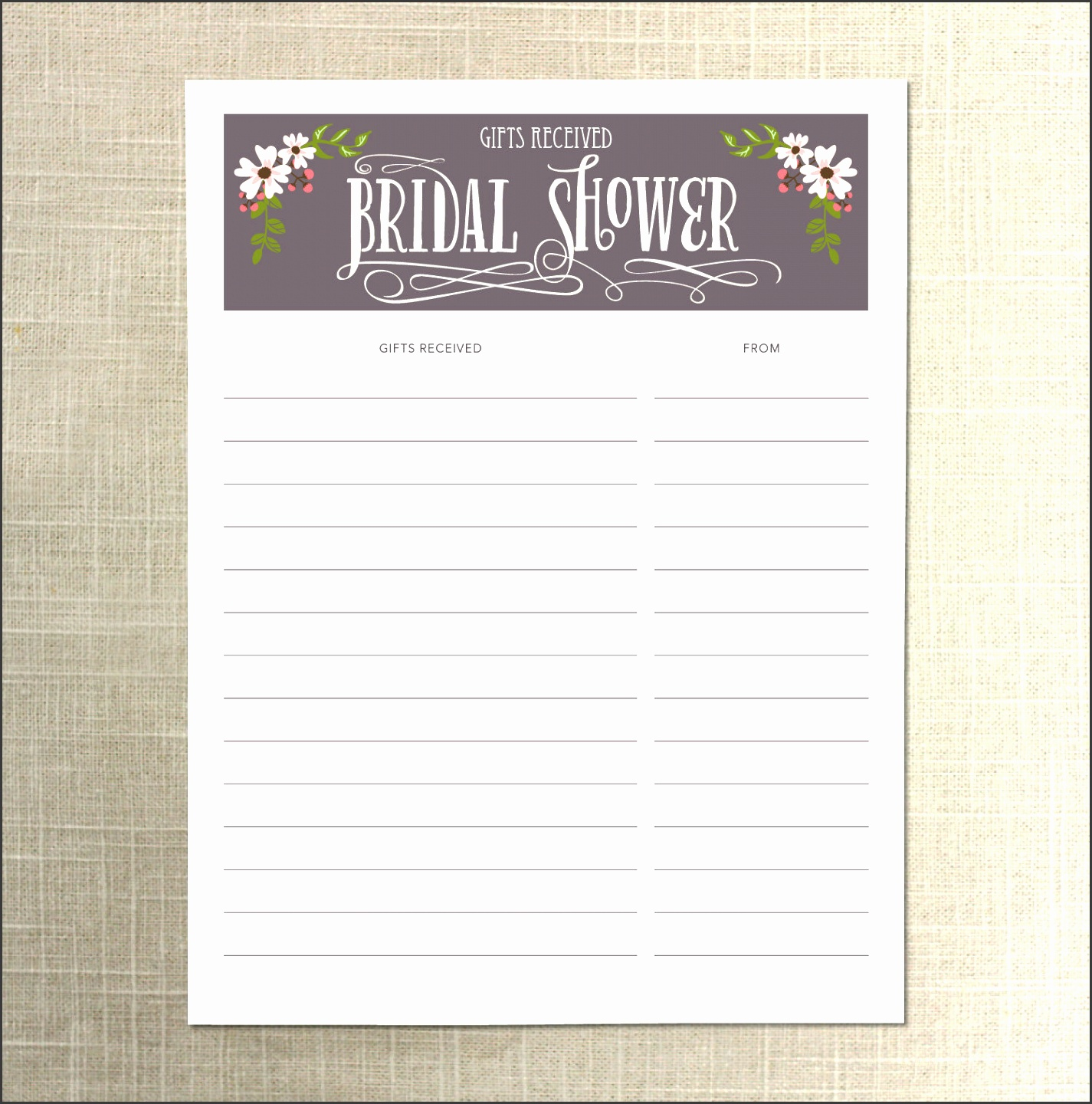 bridal shower to do list template il fullxfull bridal shower to do list template printable wedding guest list template printable wedding guest list template