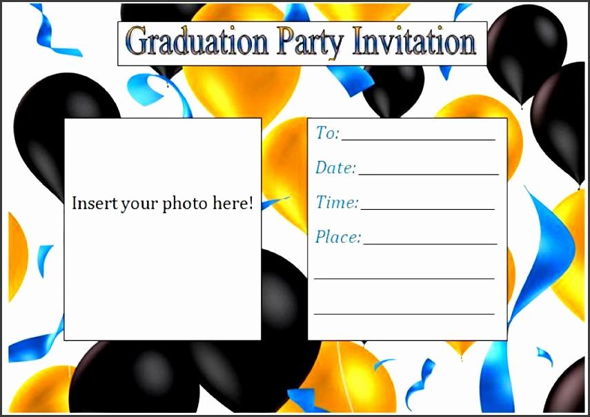 printable graduation invitation templates 15