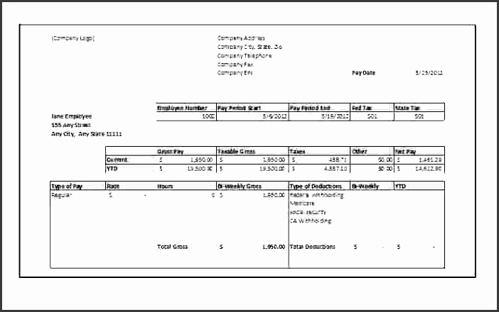Pay Stubs Template 21 Pay Stub Templates Free Samples Examples Inside  Independent Contractor Pay Stub  Pay Stub Templates Free