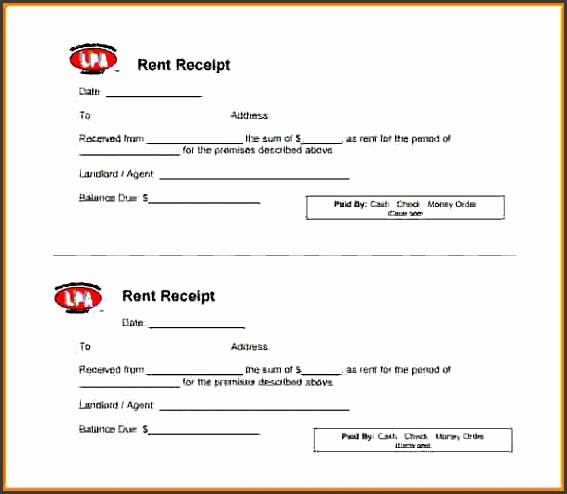 8 rent payment receipt sample restaurant receipt