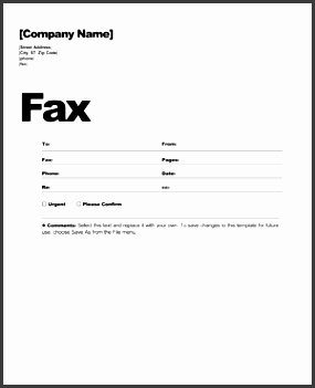 Ambitious image within blank fax form