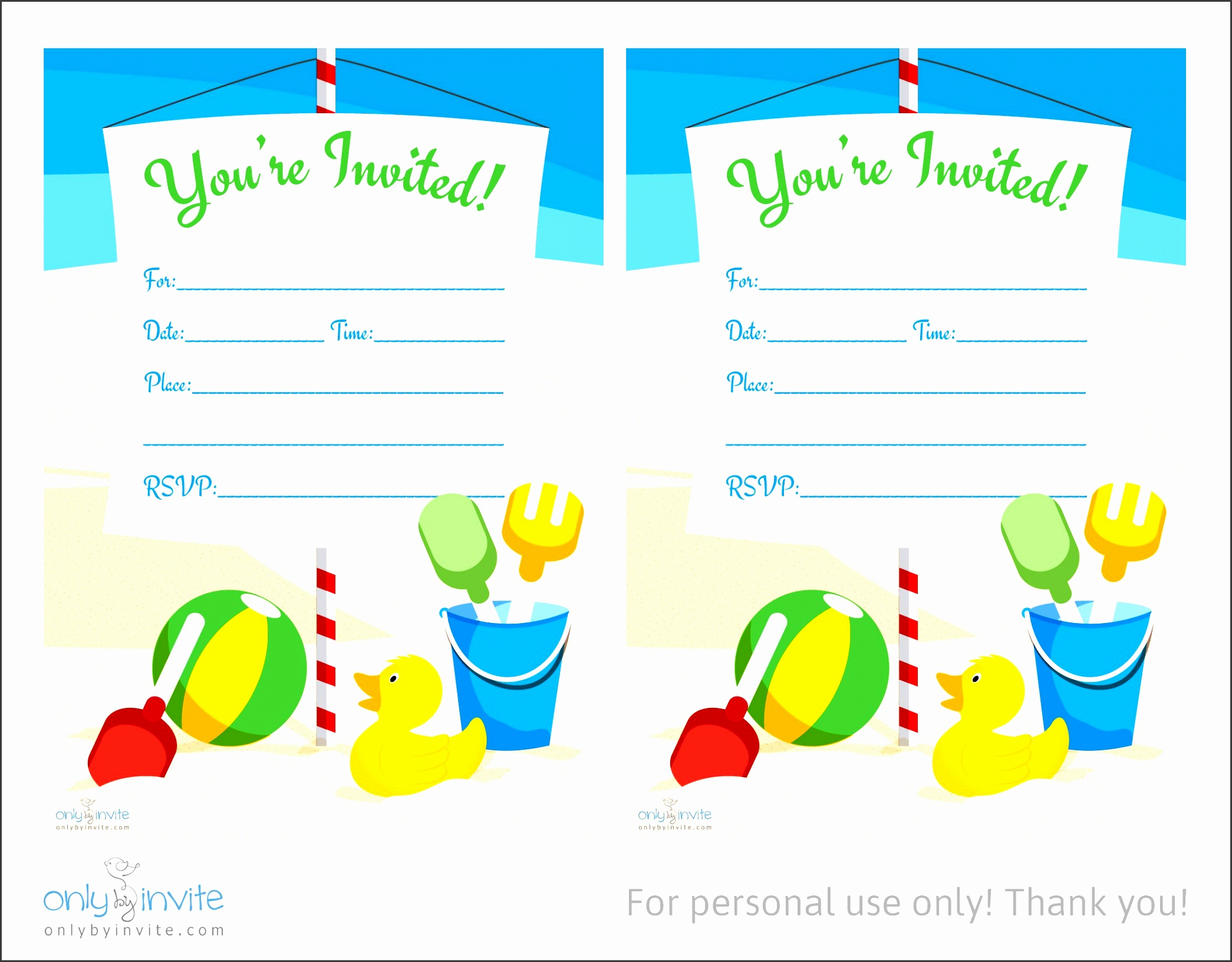Pool Party Invitation Template Word Images - Template Design Ideas