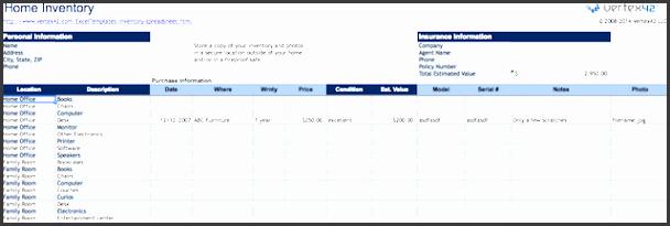 spreadsheets orgainze home