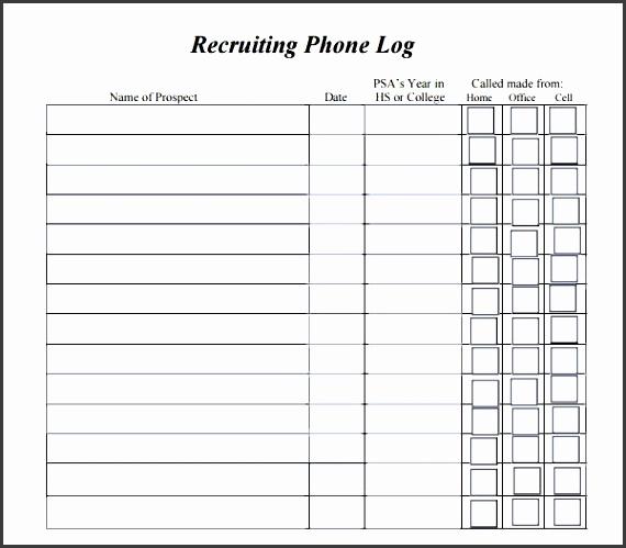 Phone Call Log Templates Attendance Sheet 37 38 Free Printable With Phone  Call Log Template