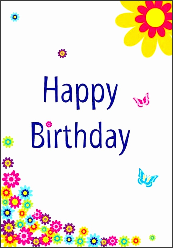 10 printable birthday card template