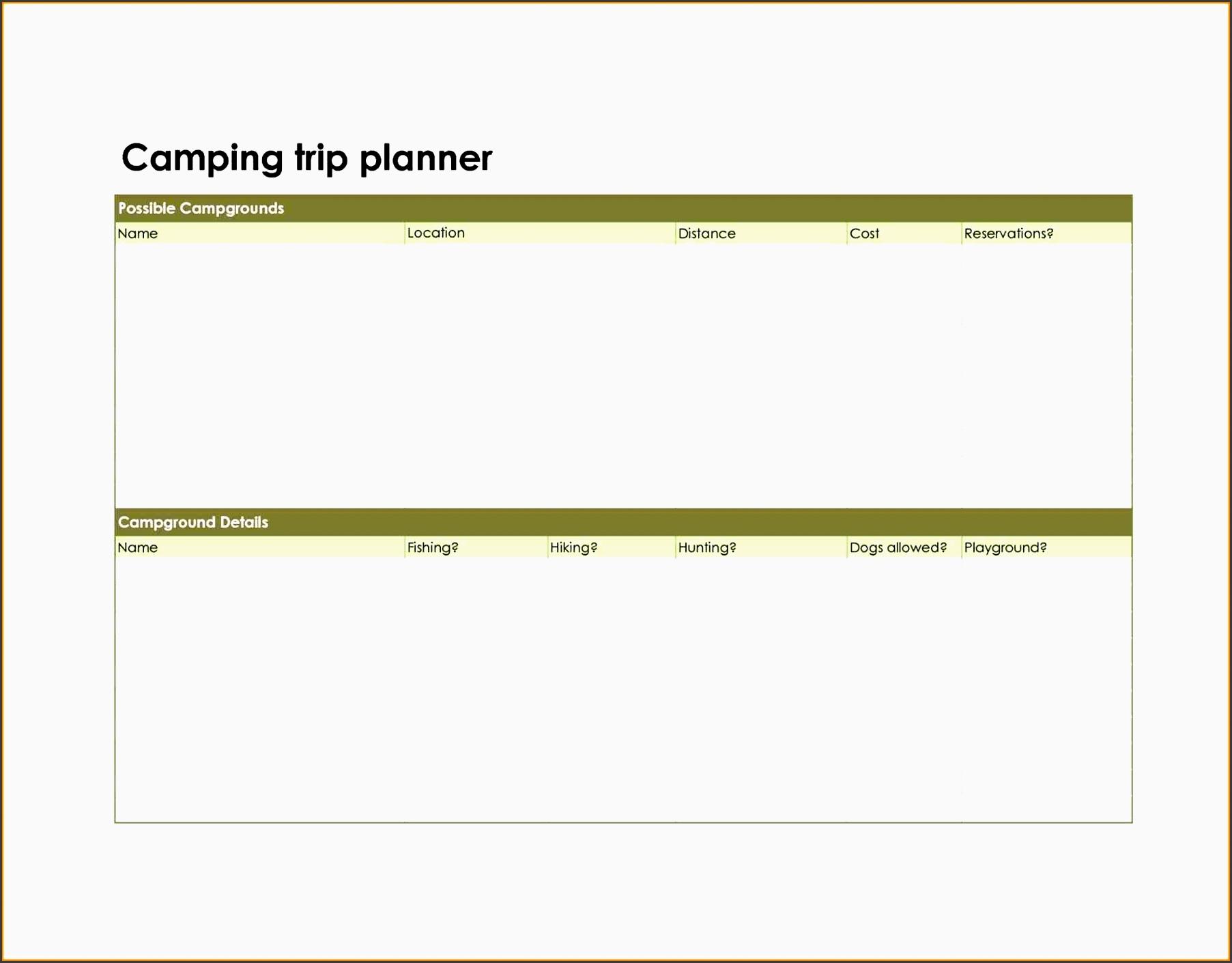 business trip planner