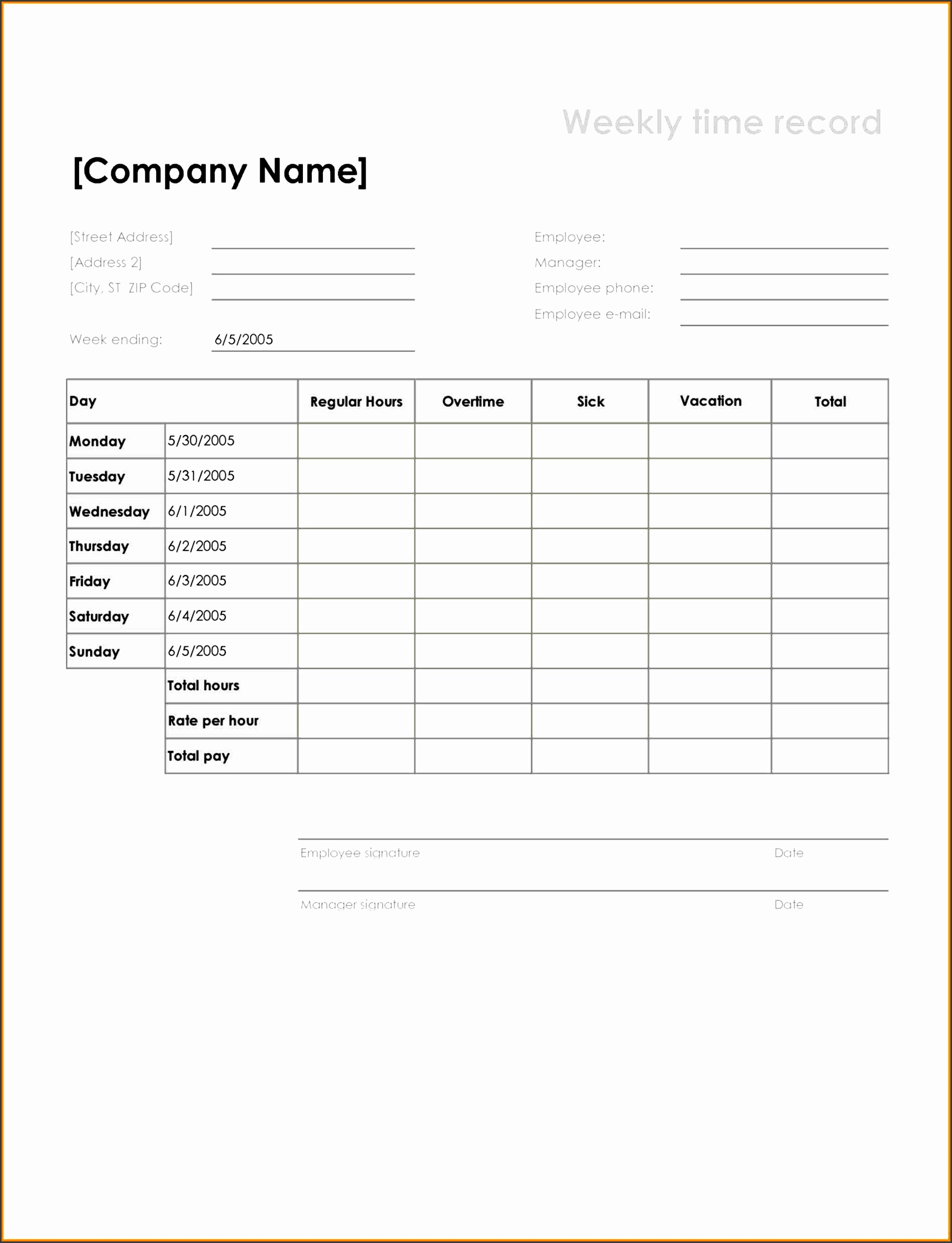 record google search construction printable time sheet timeline template printable employee time cards template free time
