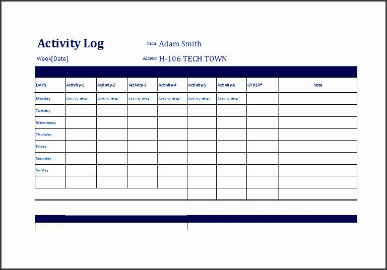 7 printable daily work log template - sampletemplatess