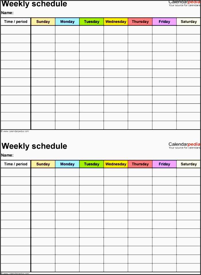 9 printable exercise planner - sampletemplatess