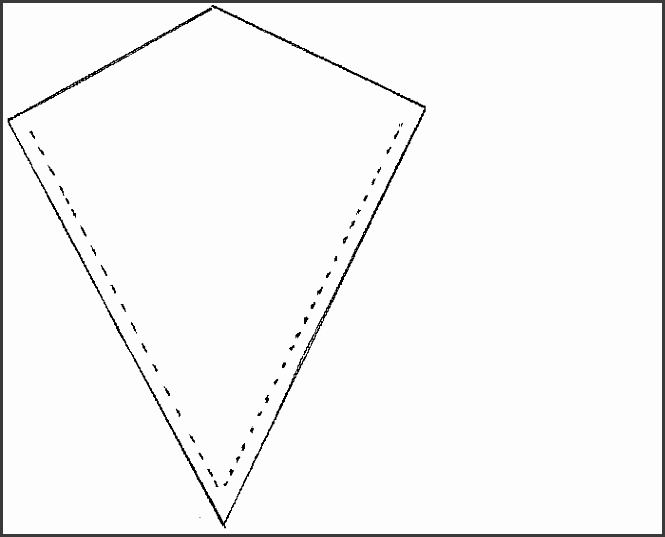 kite pattern template