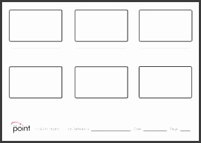16 9 story board template