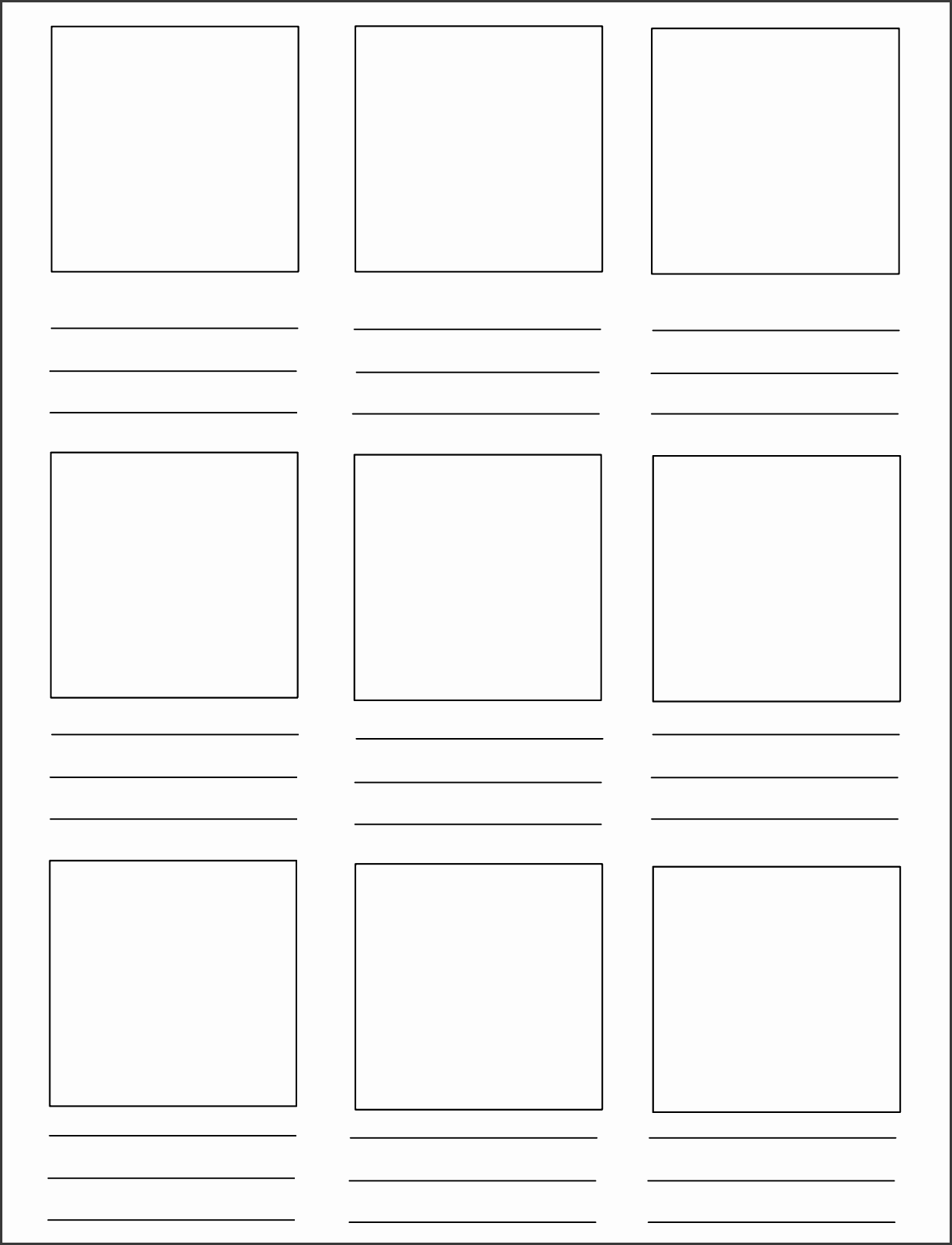 storyboard template pdf best business inside
