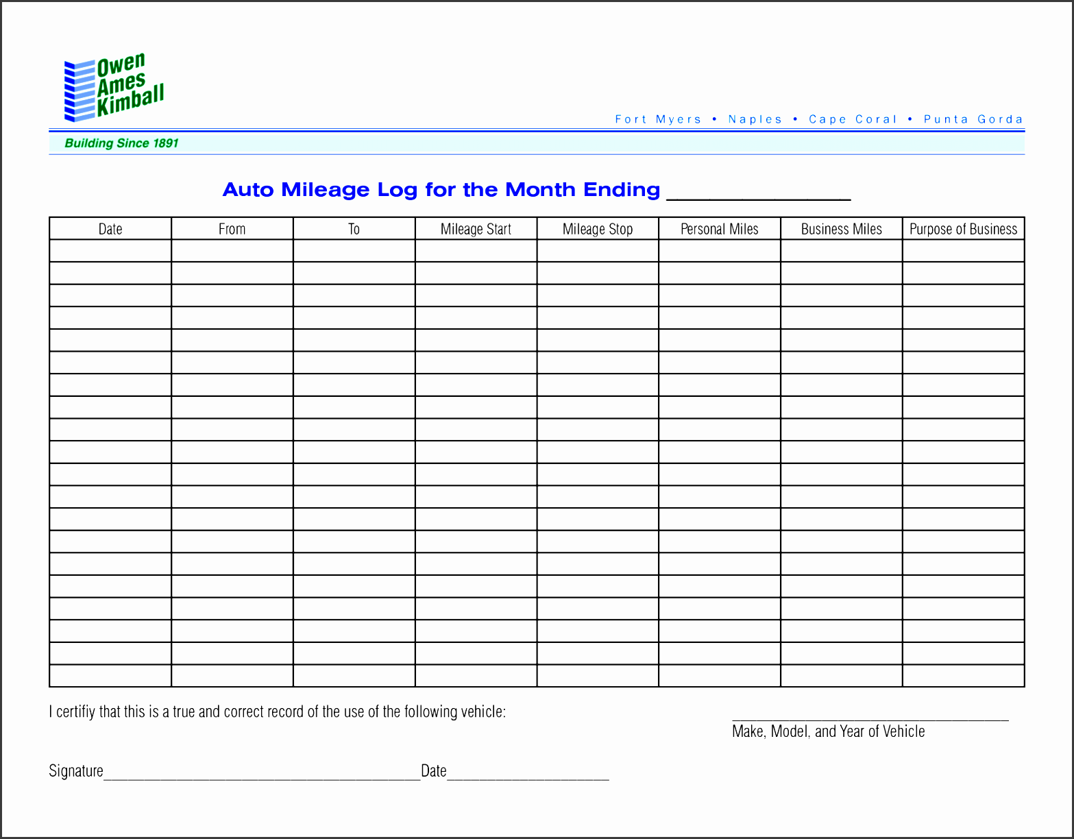 8 best images of monthly mileage log template printable printable vehicle mileage log template post