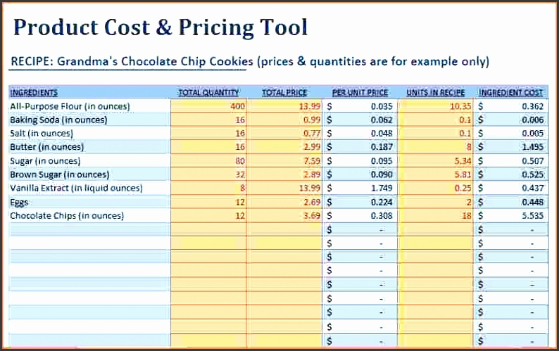 excel price sheet template images gallery nice price list template