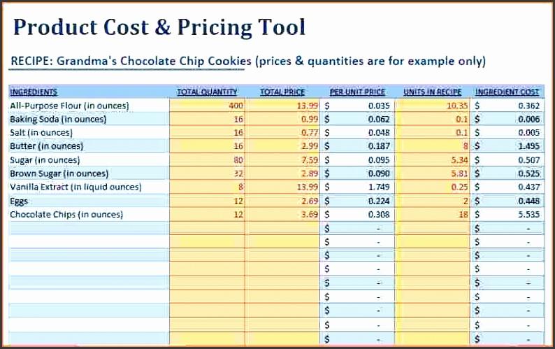 10 product price sheet template sampletemplatess