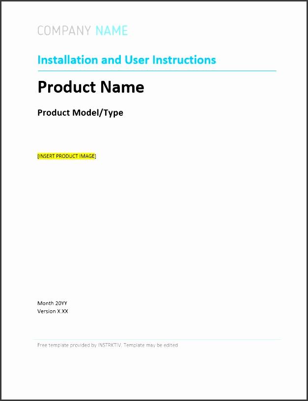 6 product user manual template sampletemplatess sampletemplatess. Black Bedroom Furniture Sets. Home Design Ideas