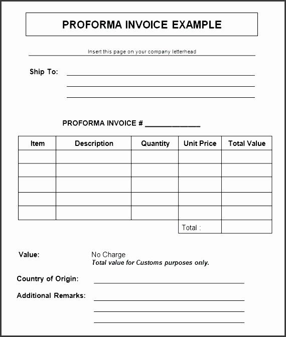 free invoice template word document 7 proforma invoice templates free documents in word free sample