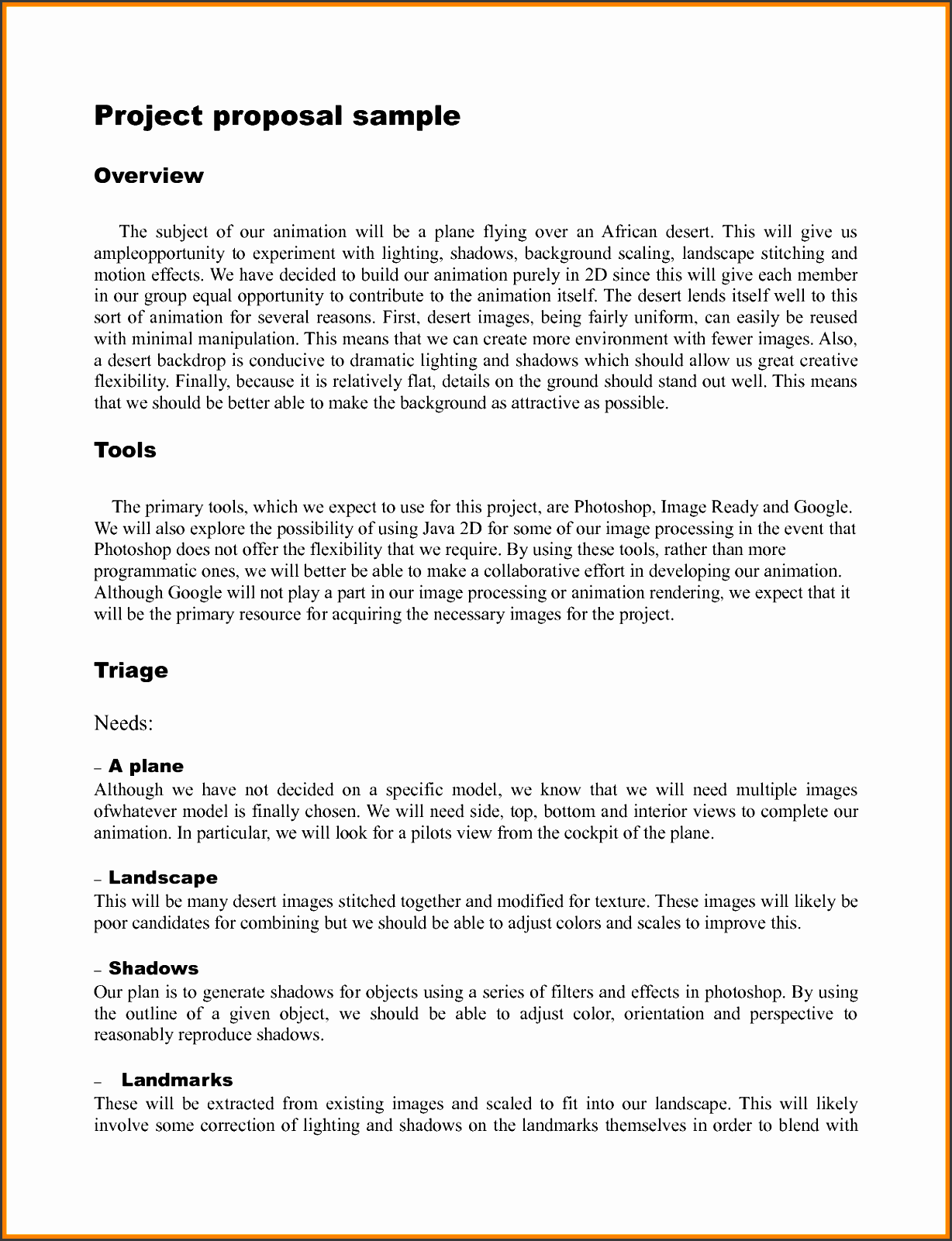 project proposal outline happycartco example of outline project proposal examples of a proposal for a project project proposal outline template for