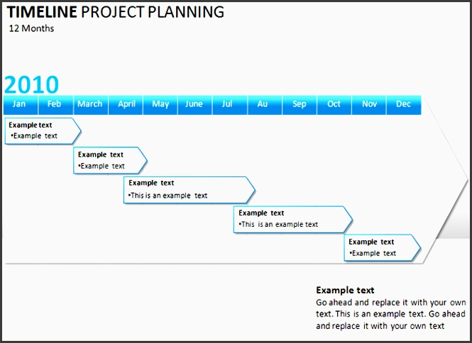 project planning timeline powerpoint template