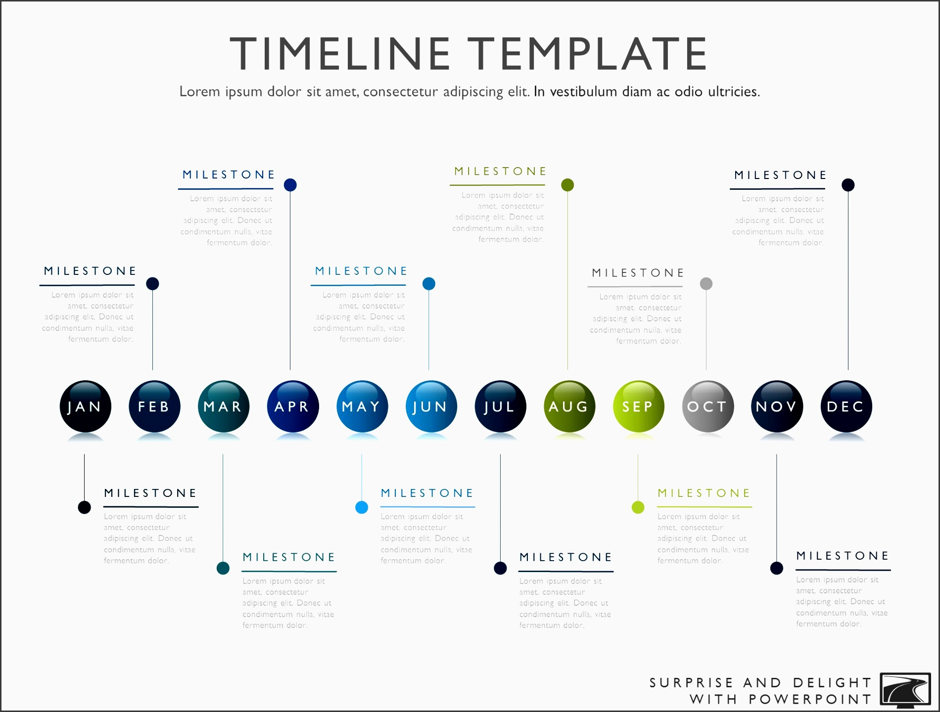 timeline template for powerpoint great project management tools to help you create a timeline to support your project plan