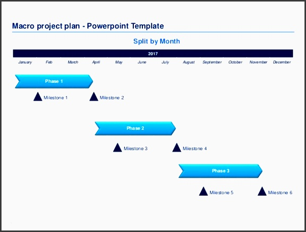 22 macro project plan objective 3 33 macro project plan powerpoint template