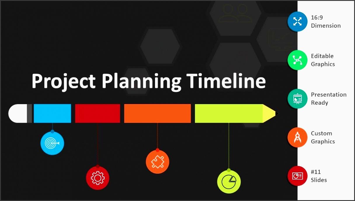 project planning timeline ppt