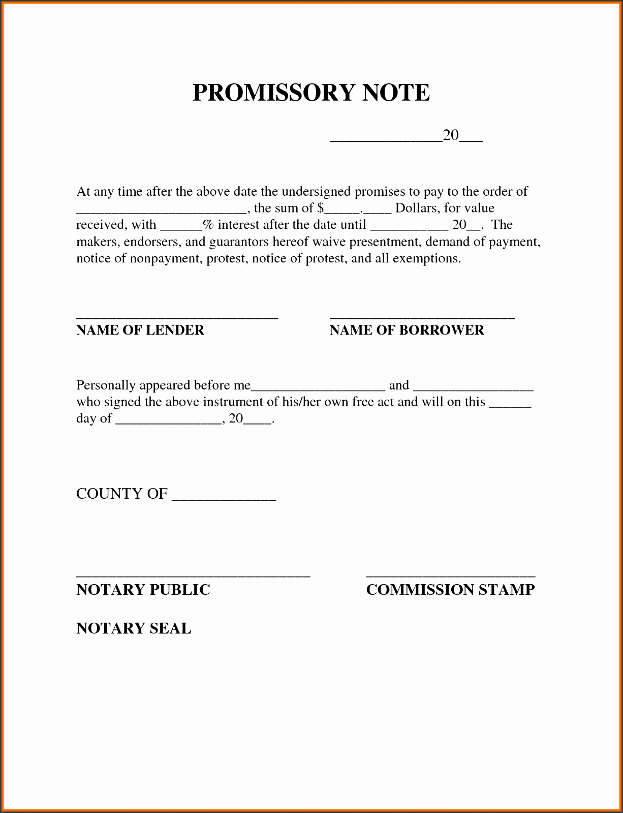 sample promissory note for cash advance officialsite
