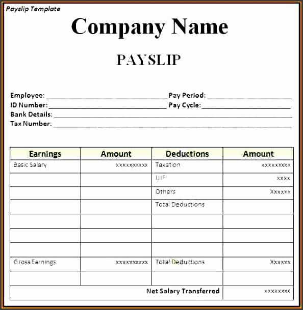 5 salary statement template  sampletemplatess