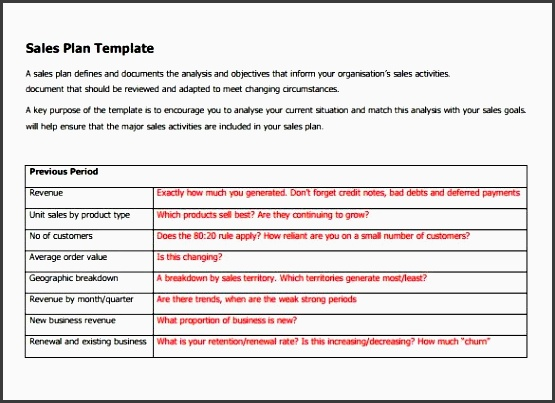 sample sales plan template 17 free documents in pdf rtf ppt