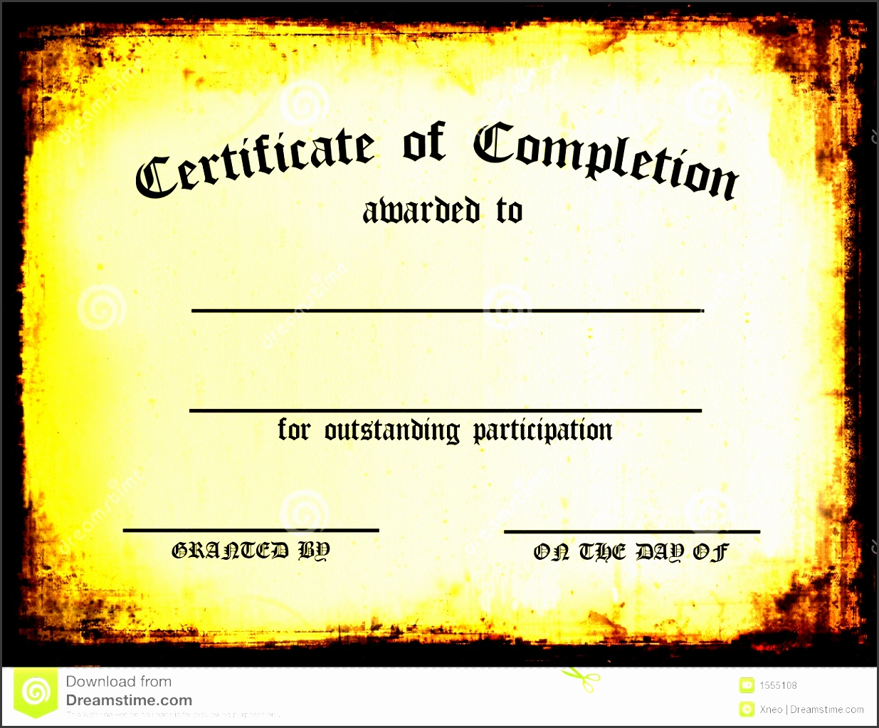 10 Sample Certificate Of Completion - SampleTemplatess ...