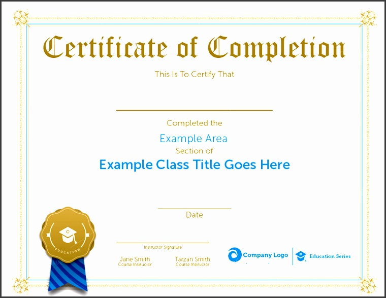 workshop certificate template sample pletion certificate templates creative template free