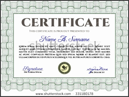 sample certificate or diploma diploma of pletion easy to print elegant design