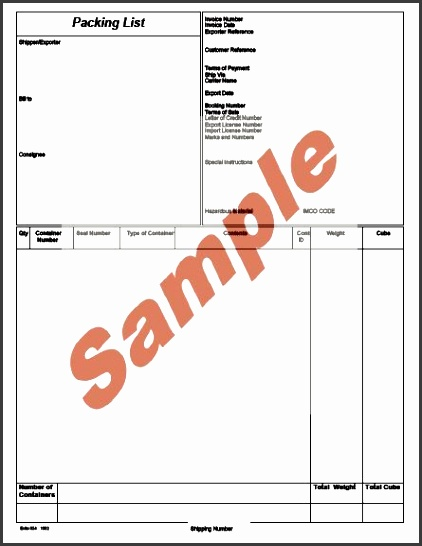 global wizard shipment wizard packing list sample portrait