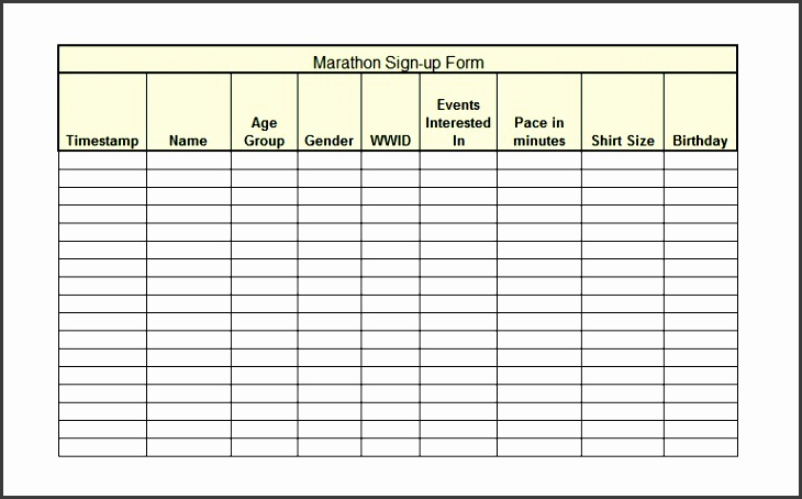 printable sign up sheet template 05
