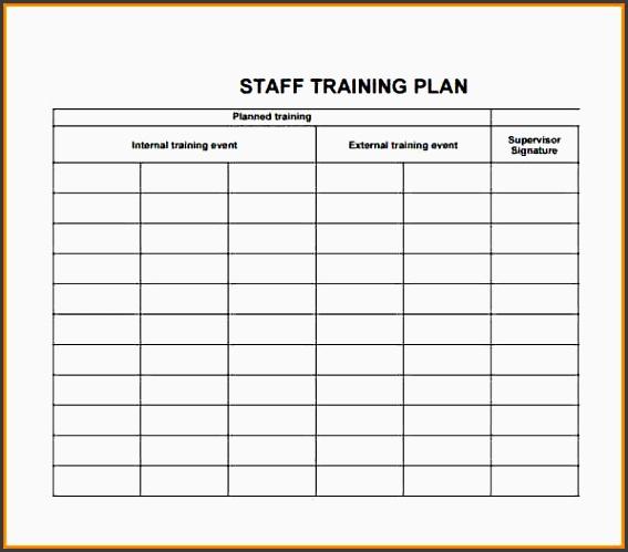 10 staff training plan layout sampletemplatess sampletemplatess. Black Bedroom Furniture Sets. Home Design Ideas