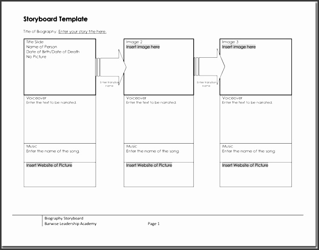 Storyboard Template Free Of Cost  Sampletemplatess