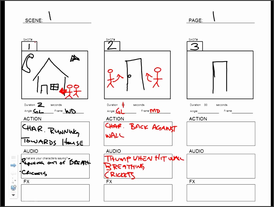 7 Storyboard Templates Sampletemplatess Sampletemplatess