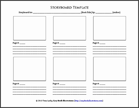 story book template printable storyboard template word peerpex ideas