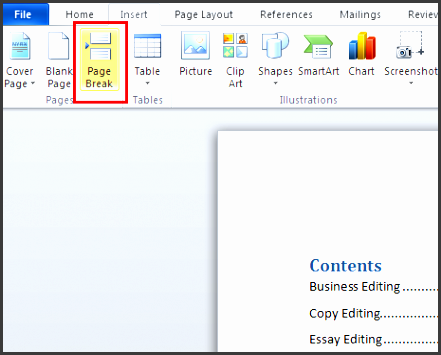 9 table of contents template in word sampletemplatess for Table of contents template word 2010