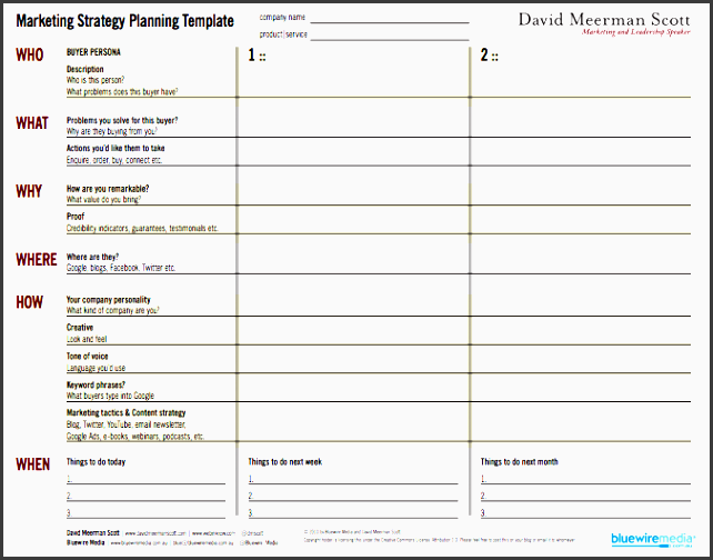 10 tactical marketing plan template editable in ms word