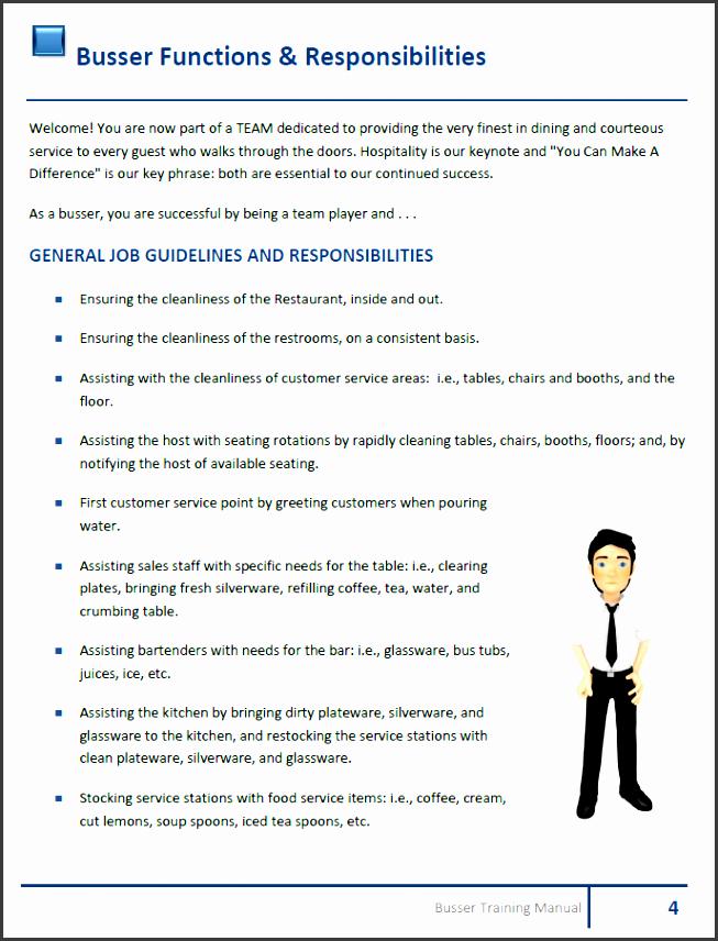 5 Training Manual Template Sampletemplatess