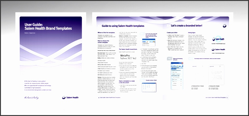 User Manual Template For Website  Sampletemplatess  Sampletemplatess