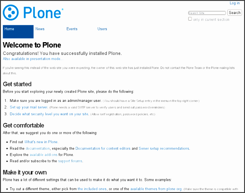 1 3 Plone User Accounts And Roles Plone Vs Documentation Website Manual  Template ...