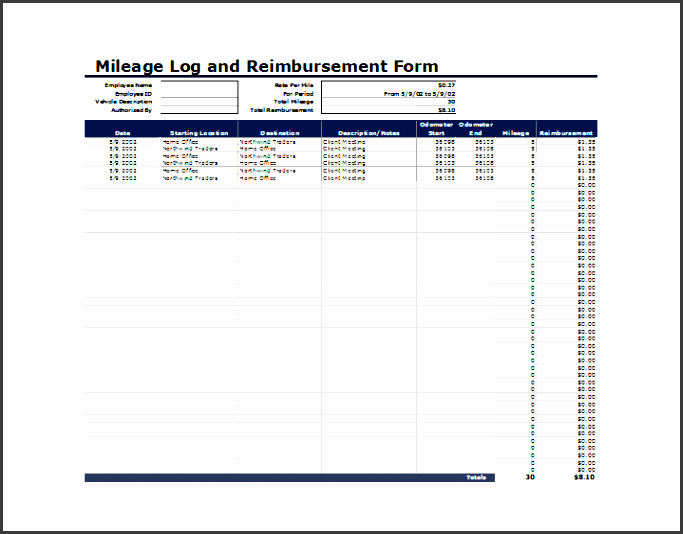 business mileage claim form template ms excel vehicle mileage log template word excel templates
